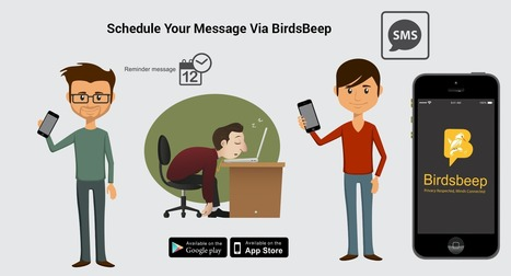 BirdsBeep - Discussing the highlight of scheduling message feature | Birds Beep | Scoop.it