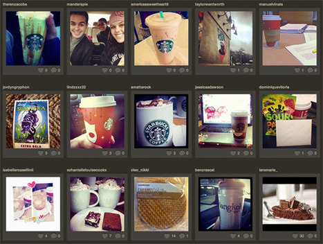 Starbucks Earns Instagram Bragging Rights - SocialTimes | Digital-News on Scoop.it today | Scoop.it