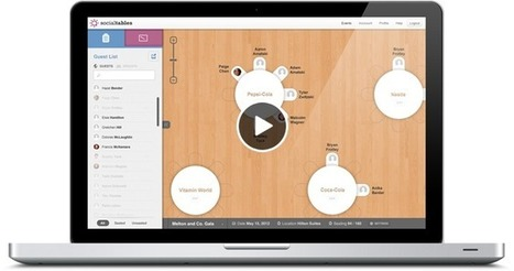 What's more social than dinner party? Social Tables manages your Guest Lists, Floorplans, Seating Charts | bestofsocialmedia | Scoop.it
