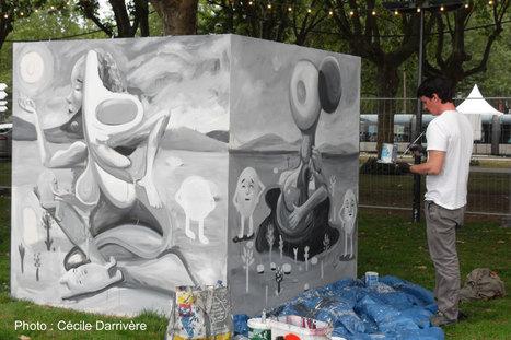 Les grapheurs du Jardins des arts, deuxième partie | Bordeaux Gazette | Scoop.it