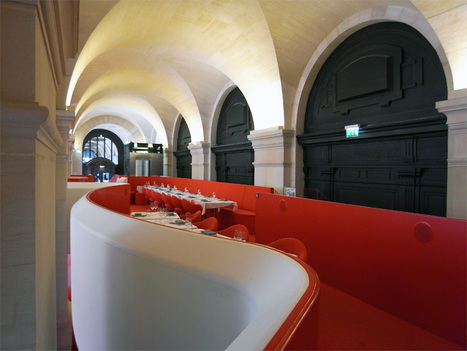 odile decq: (phantom) opera restaurant paris | Rendons visibles l'architecture et les architectes | Scoop.it