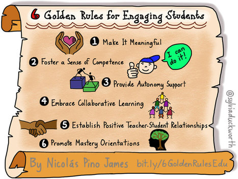 6 Golden Rules For Engaging Students - | School Library Advocacy | Scoop.it