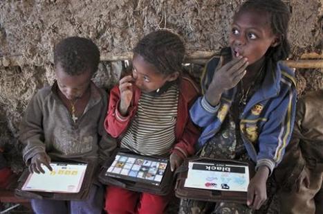 Tablet as teacher: Poor Ethiopian kids learn ABCs | iEduc | Scoop.it