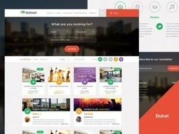 Download: Dhuoot Portal PSD Landing Page Template   Freebies   Scoop.it