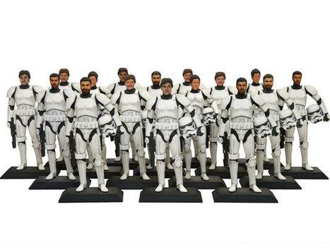 Grâce à Disney et à l'imprimerie 3D, devenez Stormtrooper avec votre propre visage | Histoire8 | Scoop.it