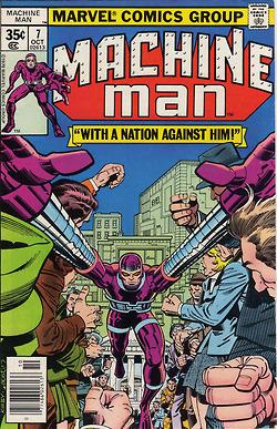 Machine Man covers by Jack Kirby! | MulderComicReport | Scoop.it