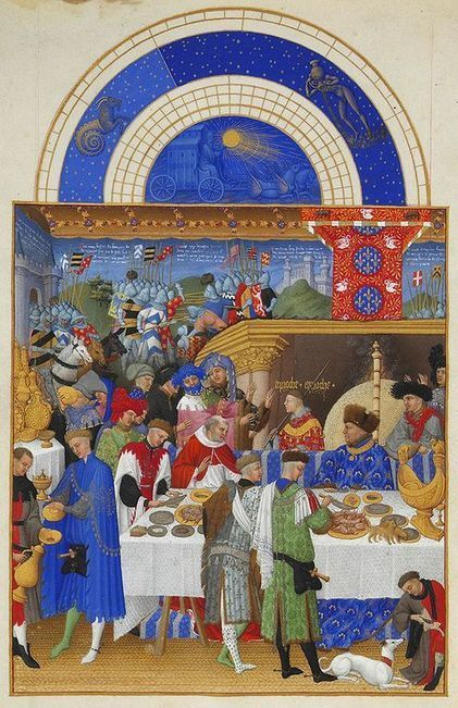 Labors of the Months, 1400s | GenealoNet | Scoop.it