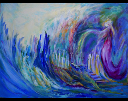 Original Works of Fusion Art and Poetry by Rickey Hoefnagel - Fusionart International - Home | The Bridging Heaven & Earth International Healing Art Project | Scoop.it