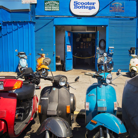 The Man They Trust With Their Keys | Vespa Stories | Scoop.it