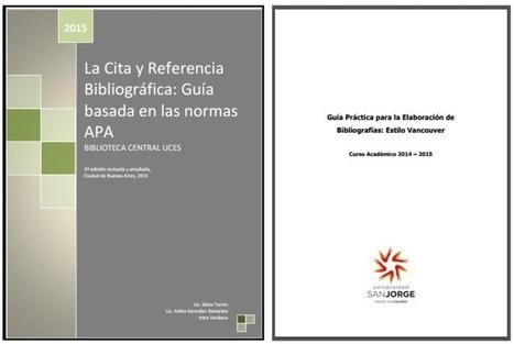 Guías APA y Vancouver para citas y referencias bibliográficas | RedDOLAC | Scoop.it