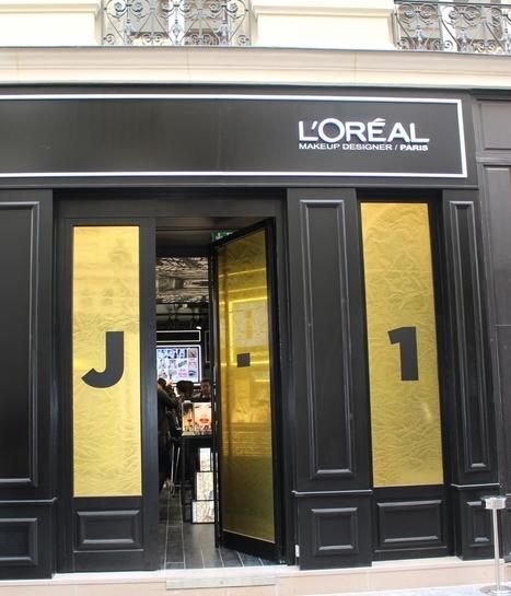 [Retailoscope] L'Oréal Paris ouvre sa première boutique mondiale | Beauté & Cosmétiques | Scoop.it