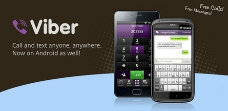 Viber : Free Calls & Messages - Applications Android sur Google Play | Best of Android | Scoop.it