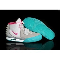 New Air Yeezy 2 Womens Pink Grey White Green | Kobe 8 All Star | Scoop.it