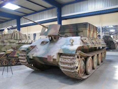 Sdkfz 179 Bergepanther – WalkAround | History Around the Net | Scoop.it