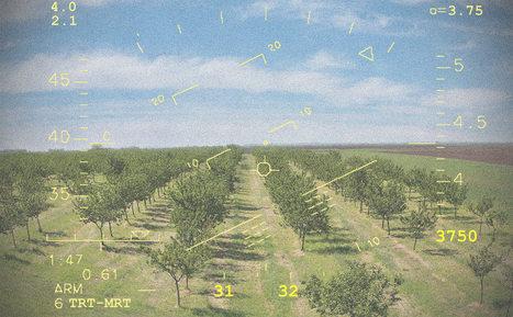 Le drone contre la tavelure du pommier | Chimie verte et agroécologie | Scoop.it