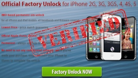 How to Unlock Blacklisted / Barred iPhone 4S / 4 / 5 Permanently | bonjour | Scoop.it