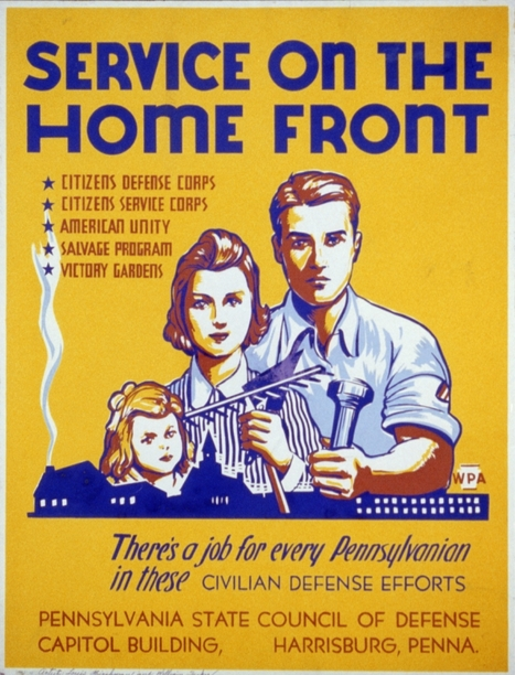 Primary Source2: Service on The Home Front | Women on the Homefront during WW2 | Scoop.it