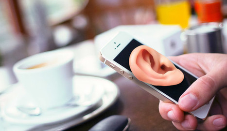 Is Your Smartphone Listening to You, or Is It Just Coincidence?   Ubiquitous Learning   Scoop.it