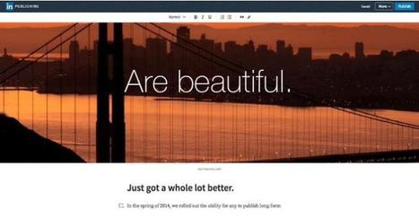 LinkedIn unveils its new blogging platform | ZDNet | All About LinkedIn | Scoop.it
