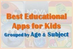 Best Educational Apps for Kids | Edtech PK-12 | Scoop.it
