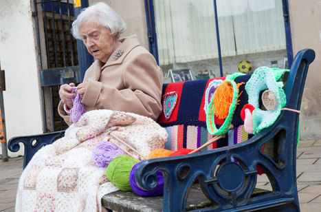 World's oldest street artist | 104-year-old 'yarn bomber' | Daily News Reads | Scoop.it