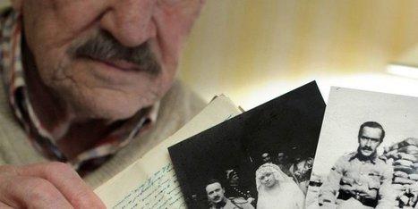 Anglet : il retrouve les lettres d'amour de son père envoyées des tranchées de 14-18   ETUDE DE LA LETTRE EN 4e   Scoop.it