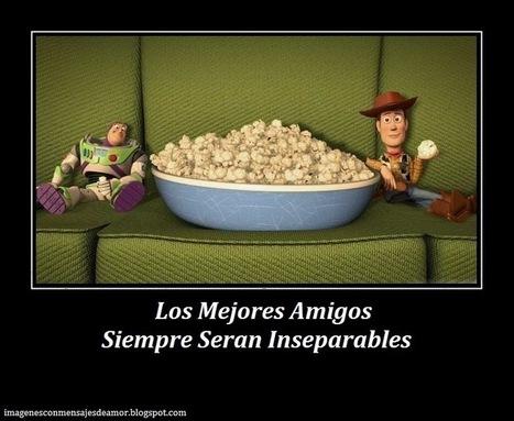 Los Mejores Amigos | Imagenes Con Mensajes de Amor | Scoop.it