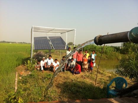 26 millions de pompes à eau solaires pour irriguer l'Inde | Génération en action | Scoop.it