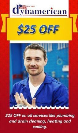 Dynamerican offers $25 off on all services like Plumbing and HVAC | PRLog | Plumbing and Drain Solutions | Scoop.it