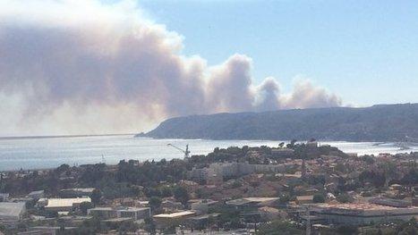 350 pompiers engagés dans un feu de forêt à Ensues-la-Redonne et Carry-le-Rouet | The Blog's Revue by OlivierSC | Scoop.it
