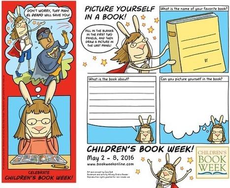 97th Annual Children's Book Week Bookmark Revealed! | Children's Book Council | Book Week 2016 | Scoop.it