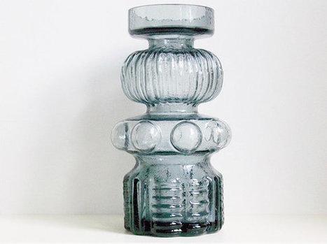 Mid Century Alsterfors glass vase | Beautiful Vintage Find!! | Scoop.it