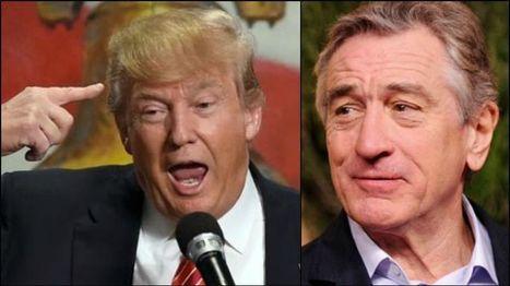 Robert De Niro : «Donald Trump est complètement cinglé» | Héros et personnages | Scoop.it