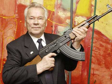 The Man Who Invented The AK-47 Has Died — Here's His Greatest Regret | Culture, Humour, the Brave, the Foolhardy and the Damned | Scoop.it