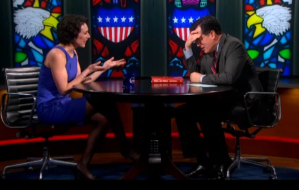 Video: Stephen Colbert Tears Up After Being Called a Bully | colbert | Scoop.it