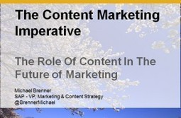 The Role of Content In The Future of Marketing | Beyond Marketing | Scoop.it