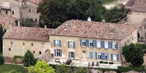 Brad Pitt et Angelina Jolie deviennent viticulteurs en Provence - Challenges.fr | Le vin quotidien | Scoop.it