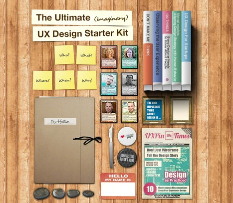 The Ultimate UX Design Starter Kit | uxperfect | Scoop.it
