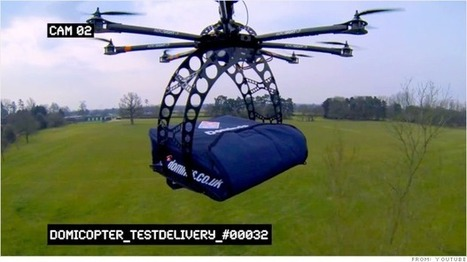 Domino's tests drone pizza delivery | Future Retail Technologies | Scoop.it