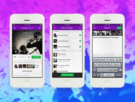 Jukely makes concert discovery social by inviting your friends along | The Shape of Music to Come | Scoop.it