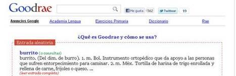 Goodrae: Diccionario de la RAE en hipertexto.- | Hipertextualidad | Scoop.it