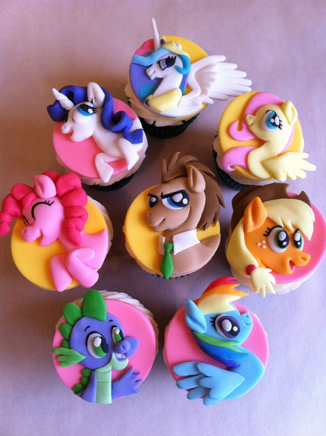 The Coolest My Little Pony Cupcakes I've Seen | My little pony | Scoop.it