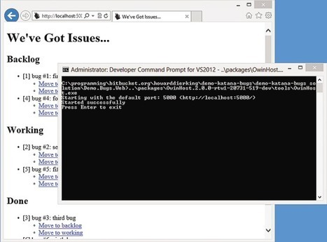 ASP.NET - Getting Started with the Katana Project | Development | Scoop.it