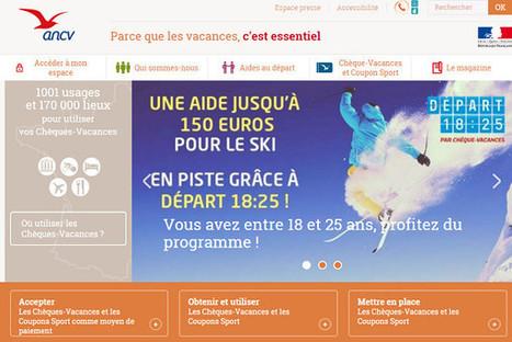 ANCV : nouveau site plus moderne et plus informatif | Actualités internationales touristiques | Scoop.it