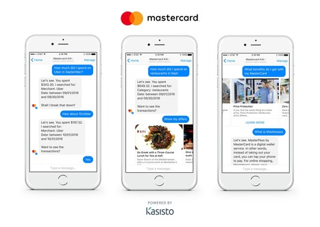 Mastercard builds chatbots for banks and merchants; teams with Fit Pay | Innovating to what's next... | Scoop.it