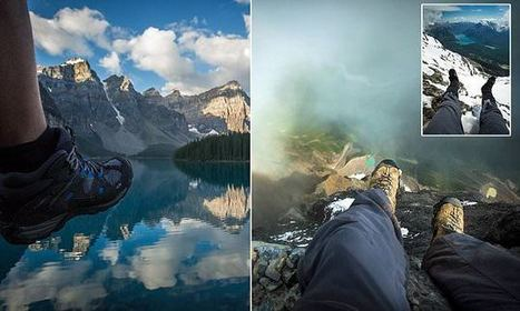 Snapper Uses Feet To Showcase Scale Of Some Of World's Amazing Sights | Everything from Social Media to F1 to Photography to Anything Interesting | Scoop.it