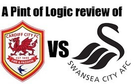 A Pint of Logic: Cardiff City vs Swansea City review | Soccer | Scoop.it