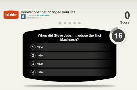 Blubbr : créer des questionnaires interactifs à partir de vidéos | Time to Learn | Scoop.it