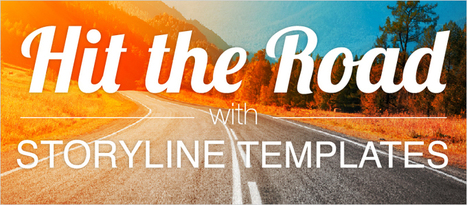 Hit the Road with Storyline Templates - eLearning Brothers | eLearning Templates | Scoop.it