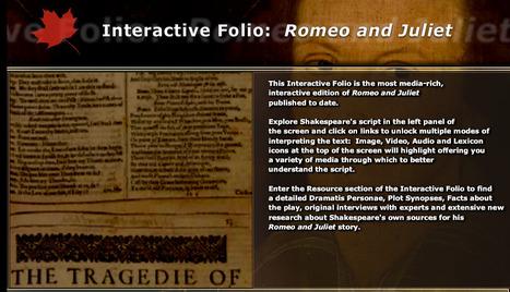 Interactive Folio : Romeo and Juliet   Romeo and Juliet BSC   Scoop.it